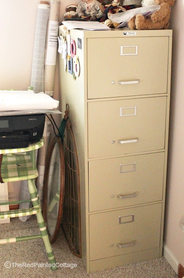 Learn How To Transform An Ordinary File Cabinet Into Extraordinary Using Corrugated Metal