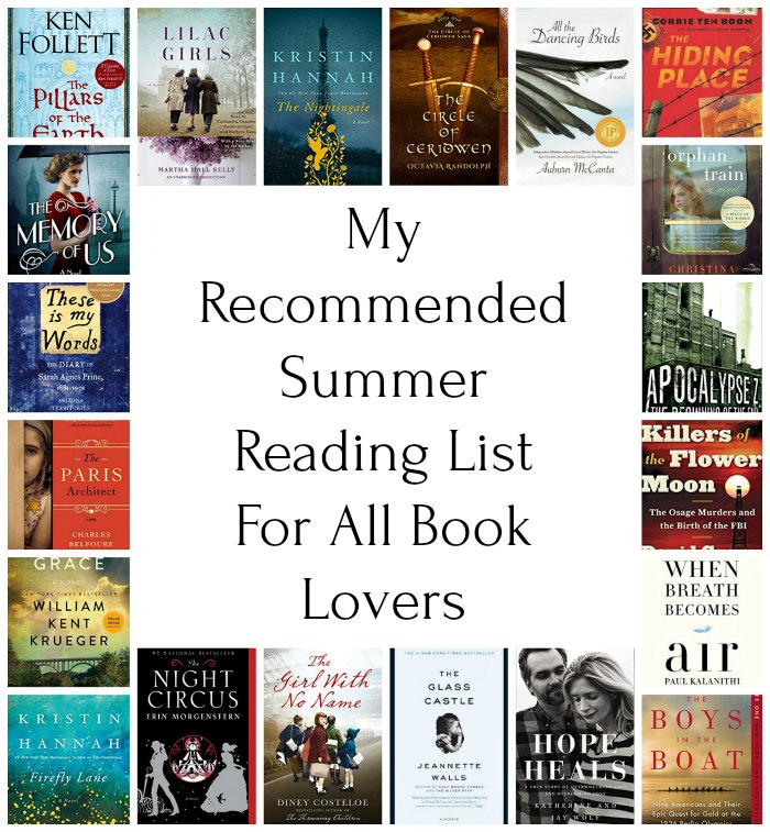 My Summer Reading List For Book Lovers