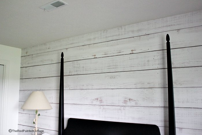 One Room Challenge, Week 5, Faux Shiplap