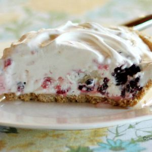 Frozen Berry Pie Recipe