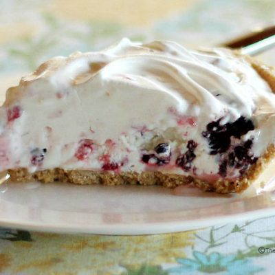 Frozen Berry Pie Recipe