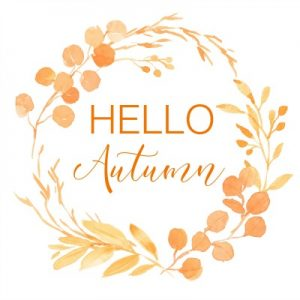 Hello Autumn Printable and An Update