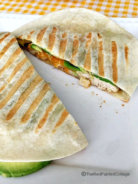 Chicken & Avocado Quesadillas