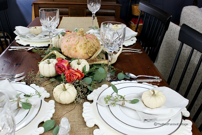Chic Rustic Thanksgiving Table