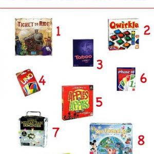 Game And Puzzle Gift Ideas