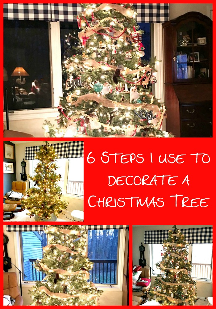 6 Steps I Use To Decorate A Christmas Tree