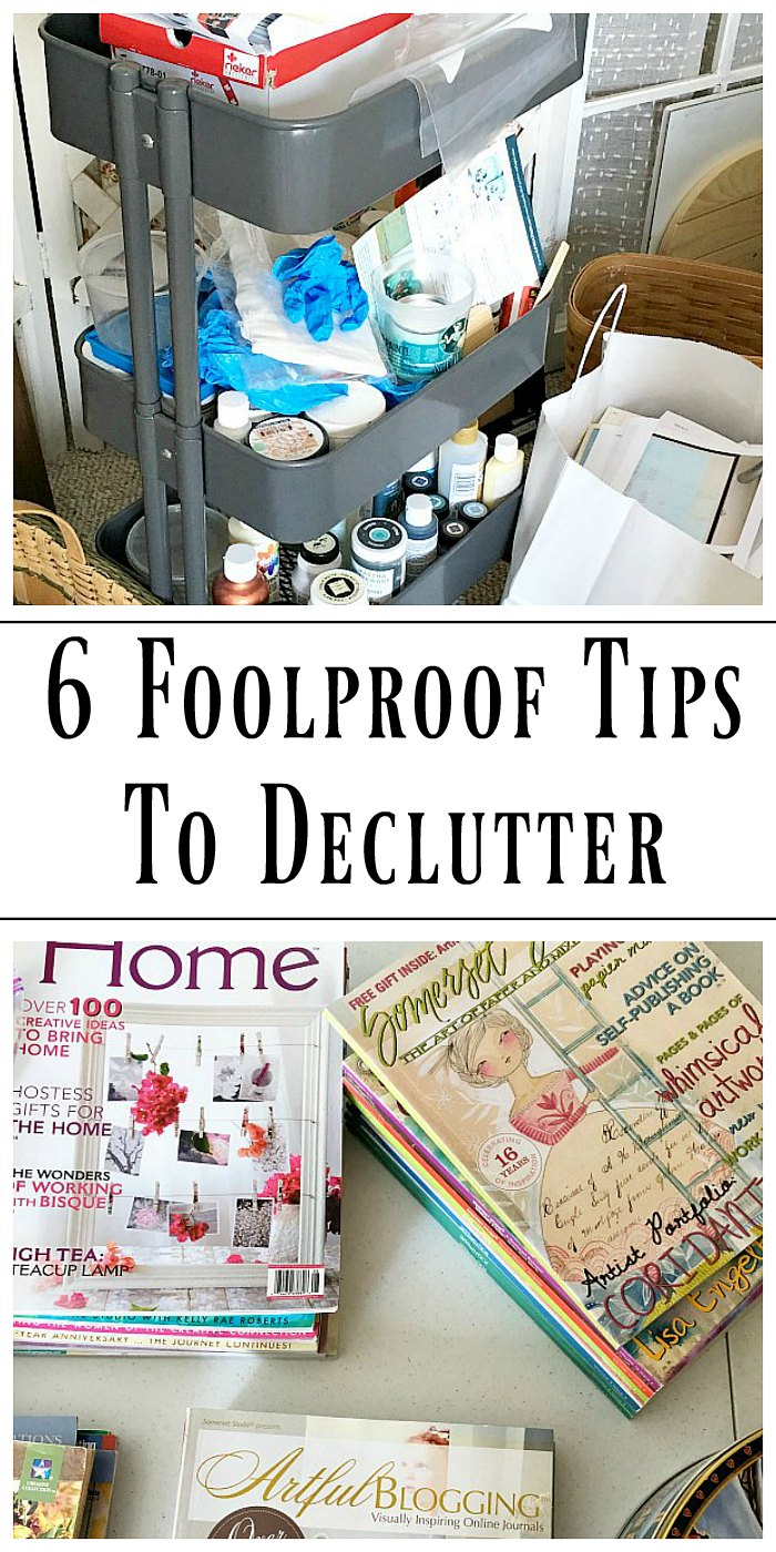 Taking Back Your Home, 6 Foolproof Tips To Declutter