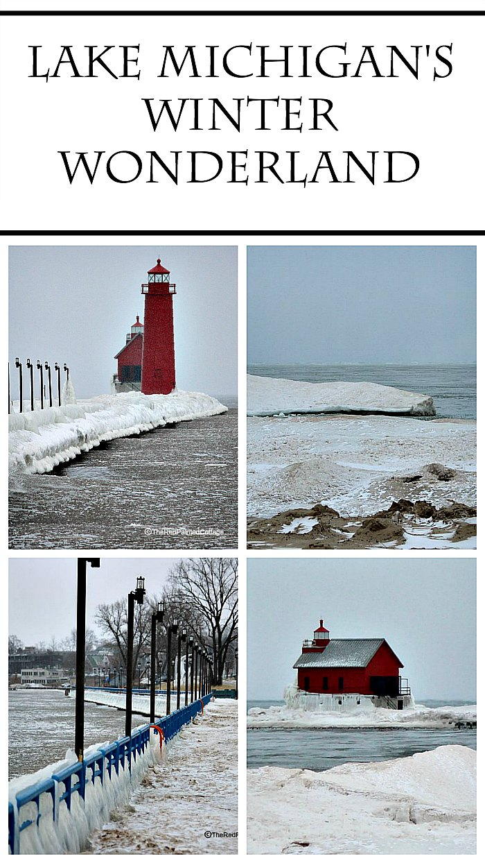 Lake Michigan's Winter Wonderland