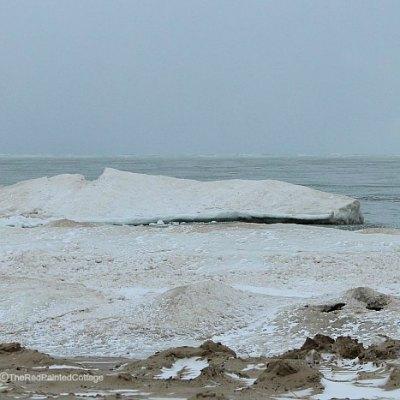 Lake Michigan's Winter Wonderland