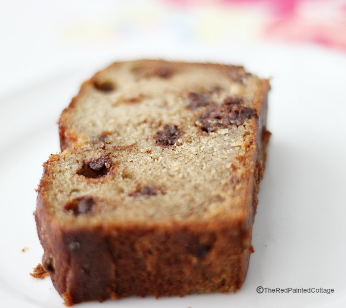 Banana Bread With Optional Chocolate Chips