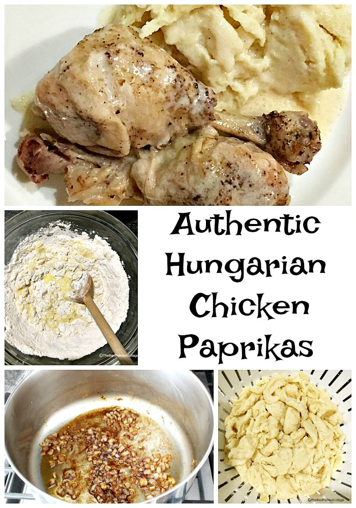 Authentic Hungarian Chicken Paprikas