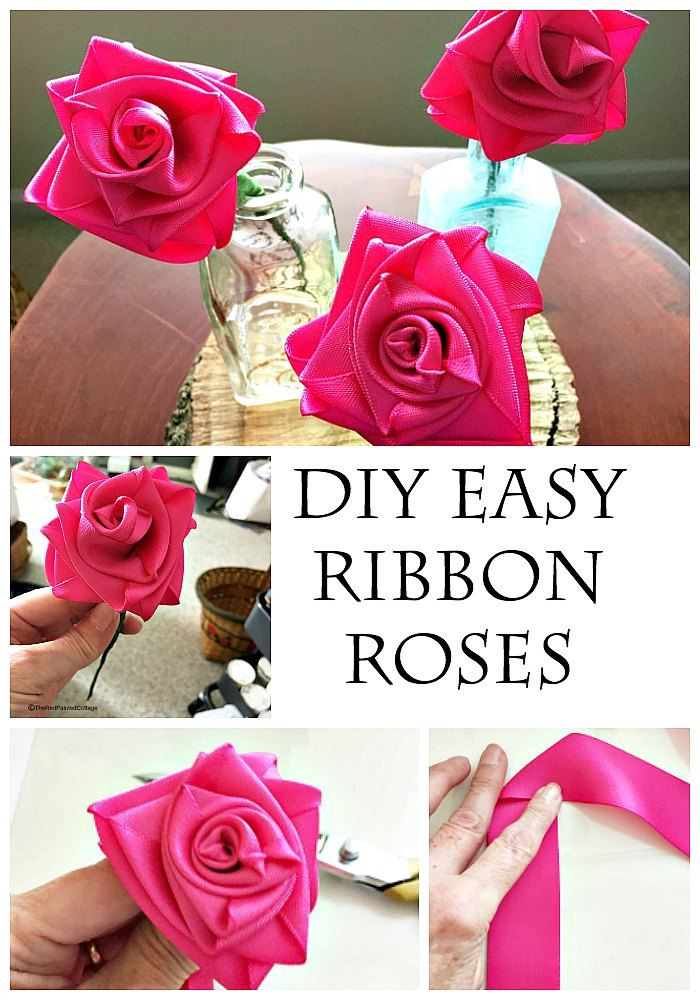 Top 15 Easy Ribbon Flowers | Crafts | The Crafty Blog Stalker | 1000x700