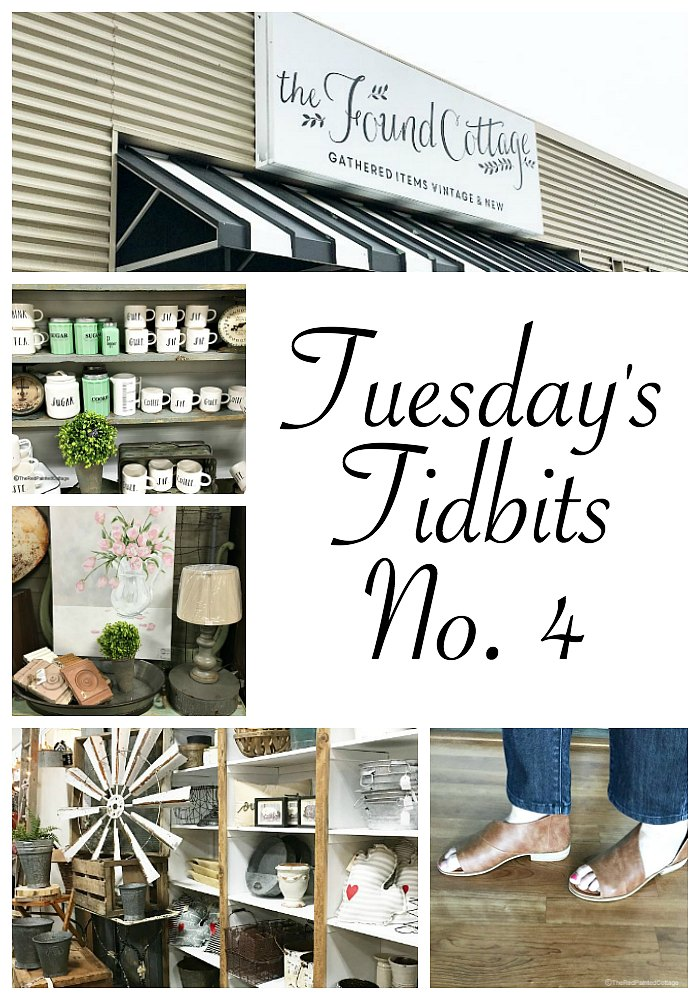 Tuesday's Tidbits No. 4