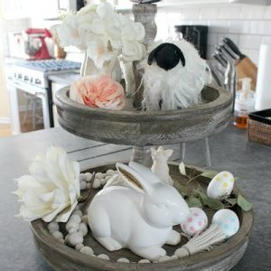 Springtime Tiered Tray