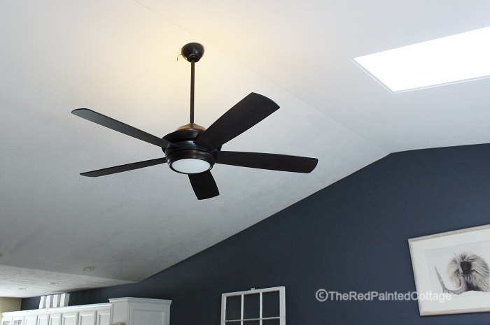 A Ceiling Fan For Summer's End