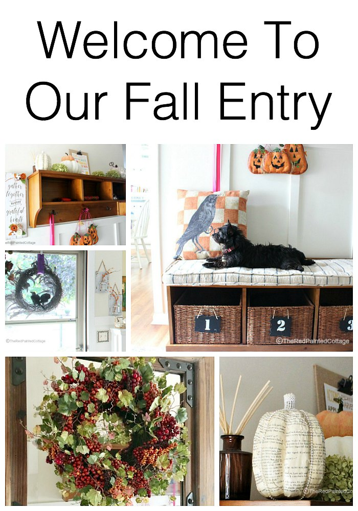Welcome To Our Fall Entry