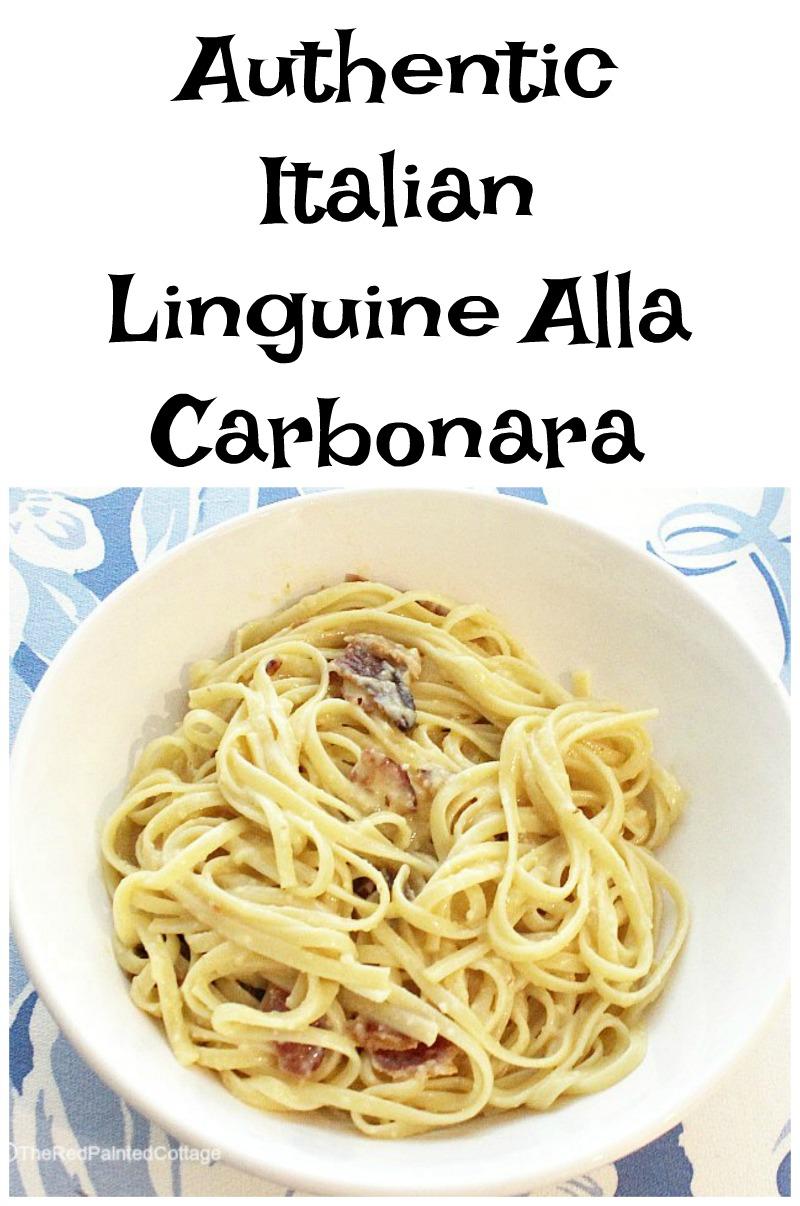 Linguine Alla Carbonara