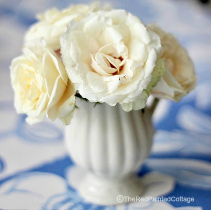 Petite Bouquet Of White Roses