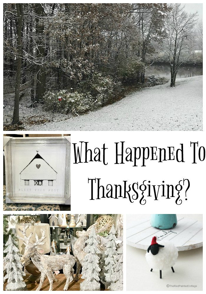What Happened To Thanksgiving?