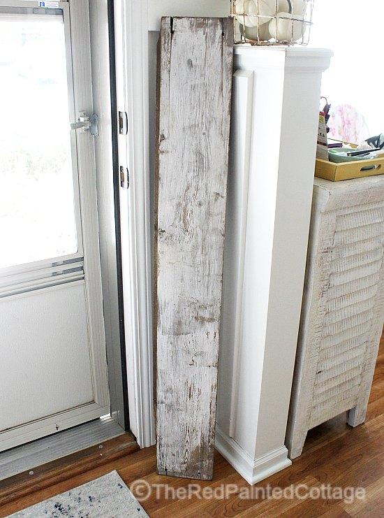 DIY Reversible Porch Sign