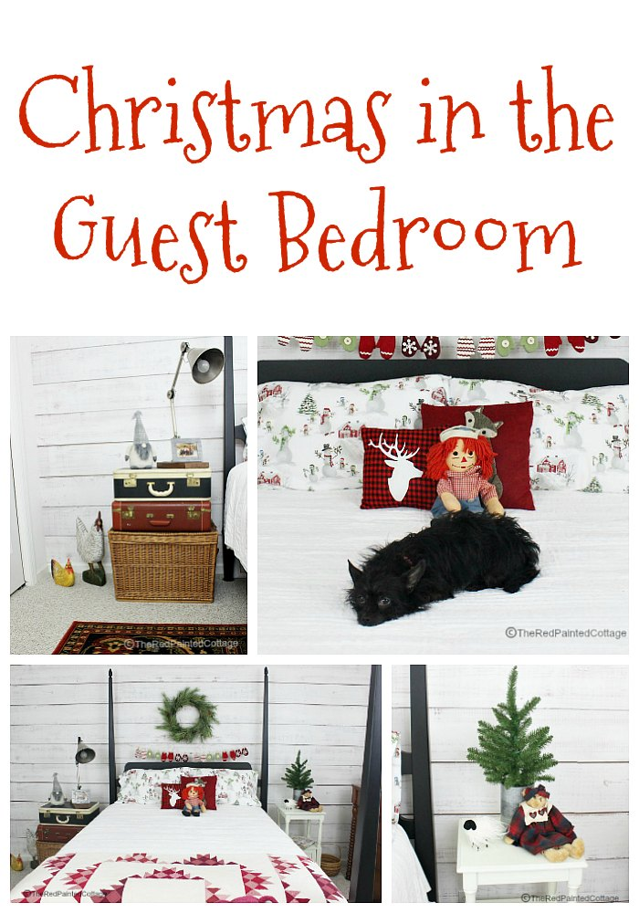 Christmas in the Guest Bedroom