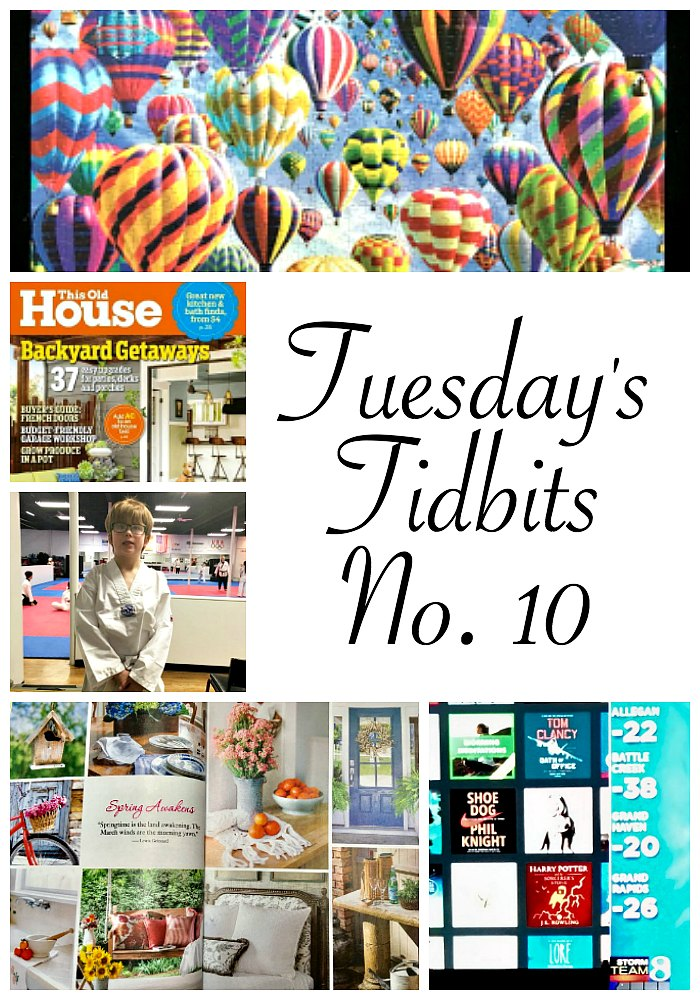 Tuesday's Tidbits, No. 10