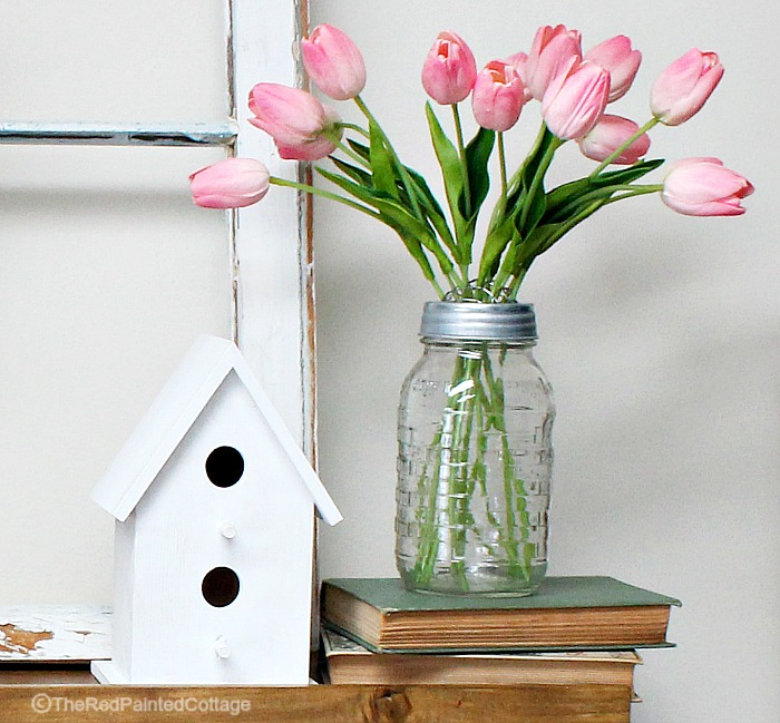 Mantel Ideas For Spring