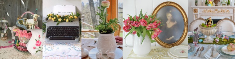 Spring and Easter Decorating On The Cheap