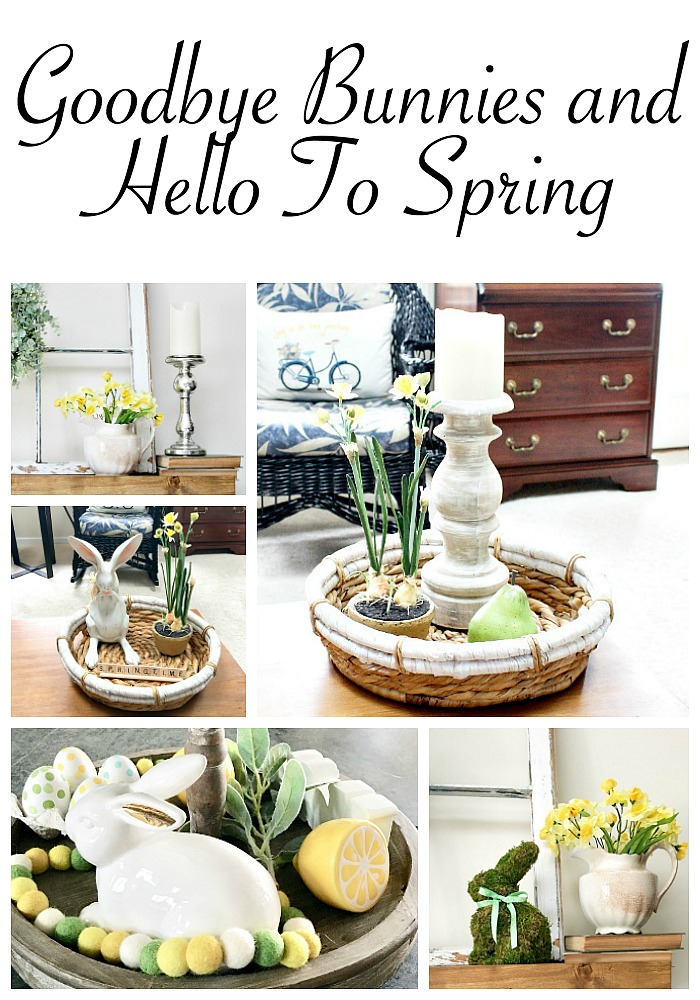 Goodbye Bunnies and Hello To Spring