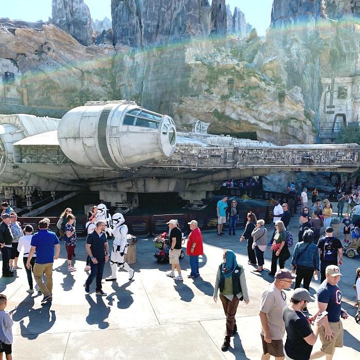 The New Star Wars Galaxy Edge At WDW