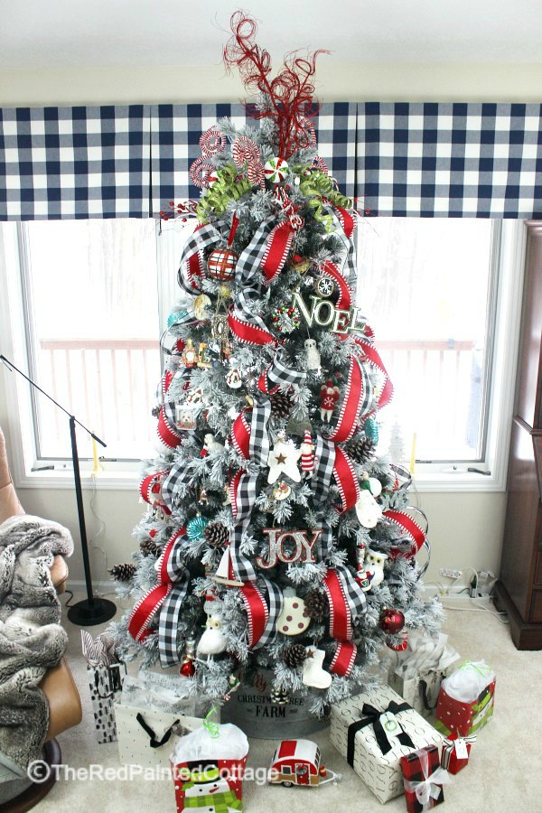 Christmas Tree Ribbons & Eye Candy