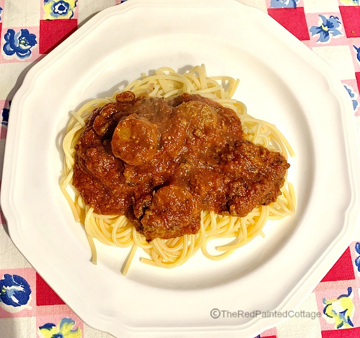 Homemade Spaghetti The Easy Way