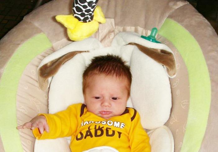 Corbin at 1 month