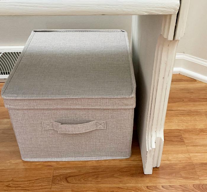 New storage baskets with lids